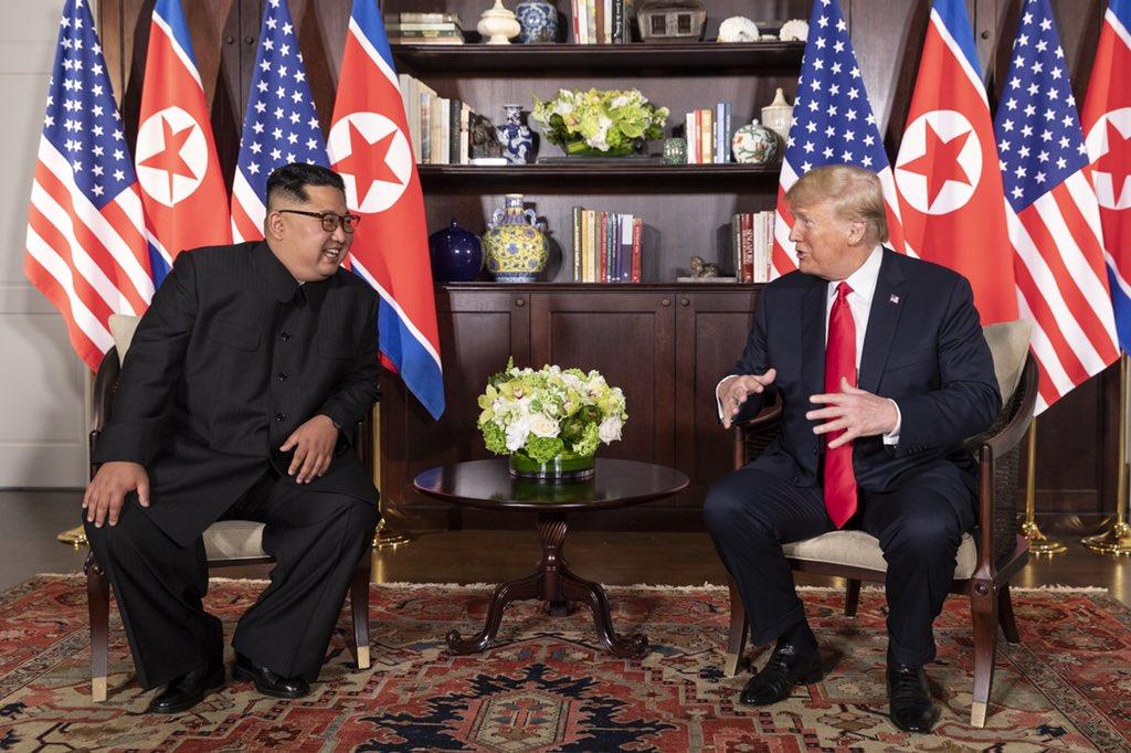 Тръмп и Ким. Снимка: Wikimedia Commons