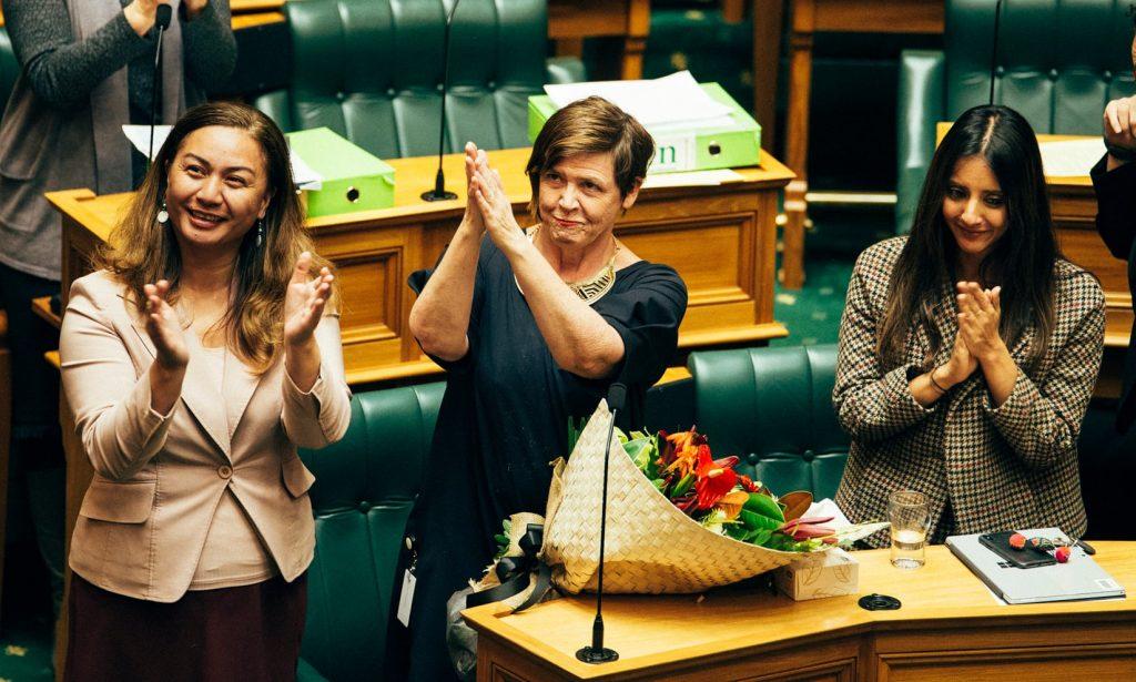 Джан Логи приветства приемането на закона. Снимка: Зелена партия на Нова Зеландия