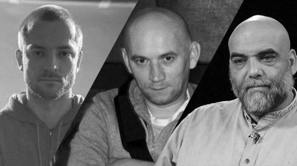 Отляво надясно: Кирил Радченко, Александър Расторгуев и Орхан Джемал. Снимка: pravmir.ru