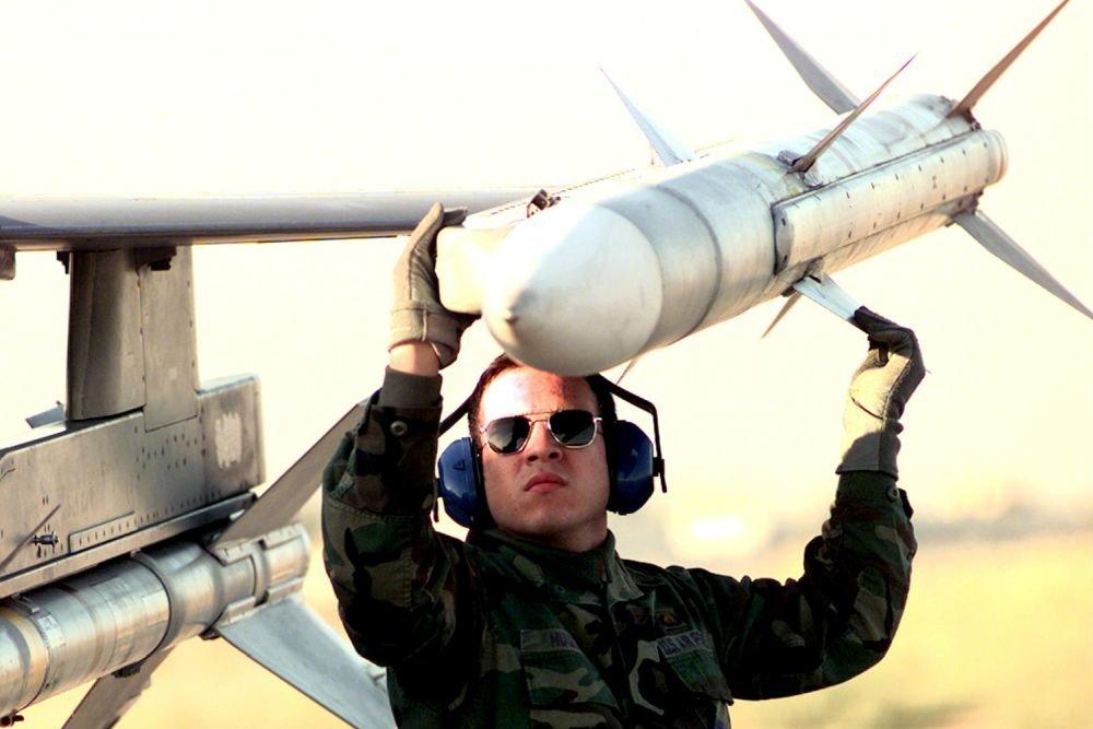 """Натовска ракета от този тип """"избяга"""" в Естония. Снимка: Уикипедия"""