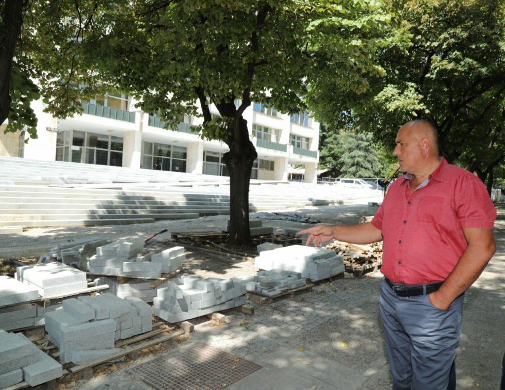 Премиерът Борисов в Стара Загора. Снимка: МС