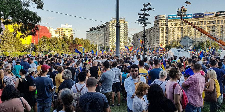 Кога румънците ще протестират масово по социални теми? (снимка: Babu, CC BY-SA 4.0 via Wikipedia Commons)