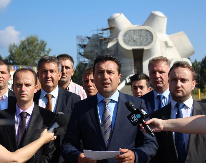 Зоран Заев открай време обича да използва Илинден като метафора. Снимка: МЕТА