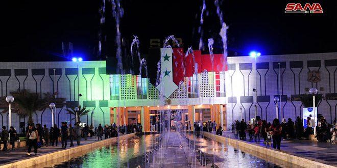 Централния вход към панаирния комплекс в Дамаск. Снимка: САНА