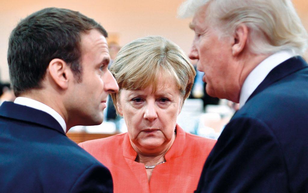 Непредсказуемият Тръмп накара европейските лидери да се замислят дали няма да им е по-спокойно, ако се сдобрят с Москва. Снимка: New Statesman