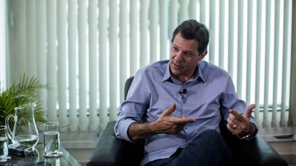 """Фернандо Хадад по време на интервюто за в. Ел Паис"""". Снимка: El Pais"""