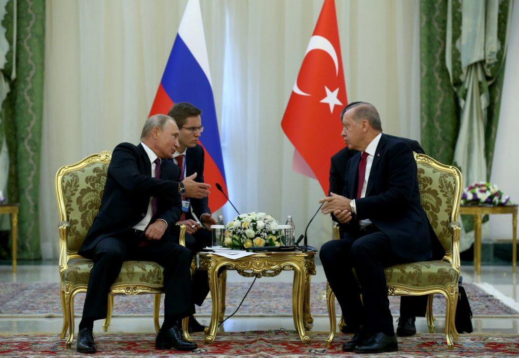 Сделката за Идлиб бе сключена на четири очи между Владимир Путин и Реджеп Ердоган снимка: Wikimedia Commons