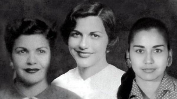 Патриа, Минерва и Мария Тереса Мирабал (отляво надясно). Снимка: infobae