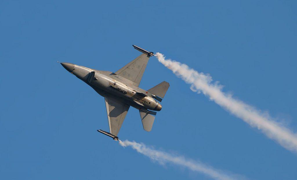 Белгийски F-16, 2009-та година. Снимка: Wikimedia commons