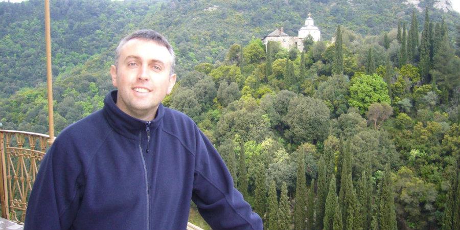 Гавраил Гавраилов в Атон (снимка: Гавраил Гавраилов)