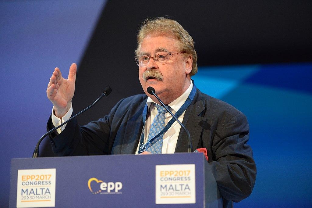 Елмар Брок е считан за един от най-влиятелните представители на ЕНП в европарамента. Снимка: Wikimedia Commons