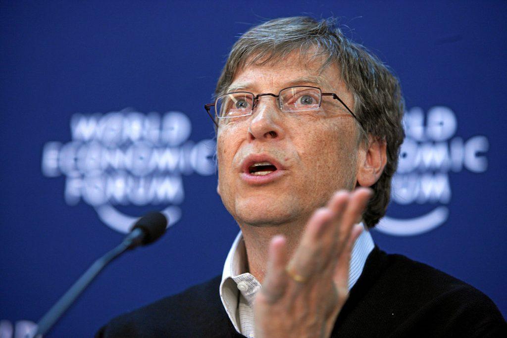 Бил Гейтс е сред редовните участници в Световняи икономически форум в Давос. Снимка: Wikimedia Commons