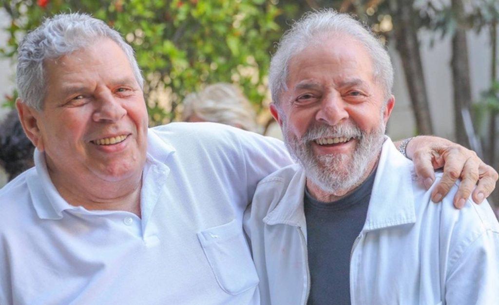 Лула да Силва с брат си Женивал (Вавав). Снимка: Рикардо Стукерт