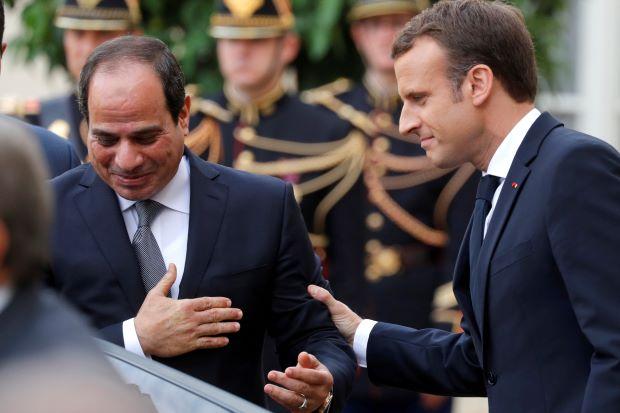 Оръжейният бизнес между Франция и Египет е твърде добър, за да се оставя погазването на човешки права да му пречи. Снимка: Ройтерс