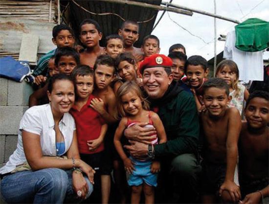 Обикновените хора във Венецуела смятаха покойния президент Чавес и правителството му за свои най-големи защитници