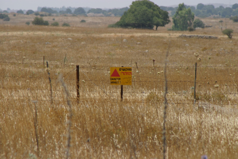 Регионът все още е осеян с минни полета. Wikimedia Commons