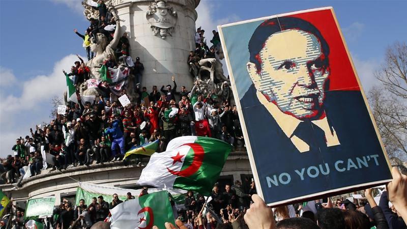 Това бяха най-масовите протести в Алжир от три десетилетия. Снимка: twitter.com/AsaadHannaa
