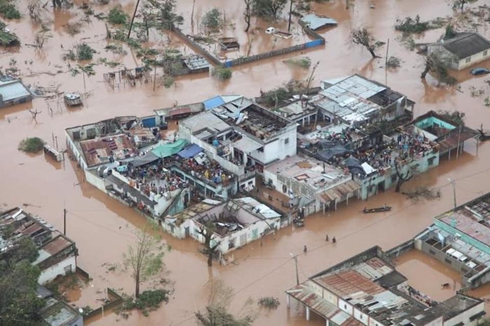 Циклонът в Мозамбик остави хиляди от най-бедните хора на планетата без дом. Снимка: УНИЦЕФ