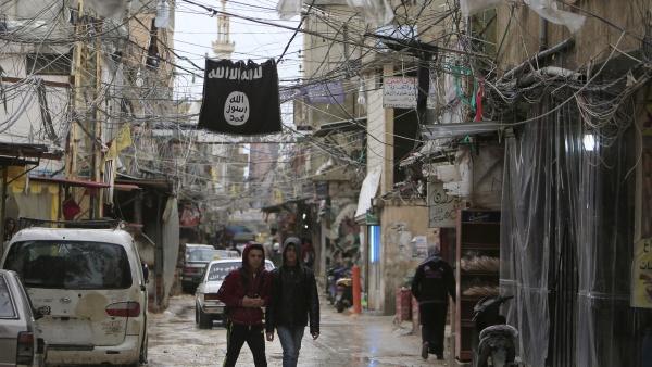 Флагът на ИДИЛ някога се вееше от предградията на Дамаск до Северна Сирия. Снимка: Ройтерс