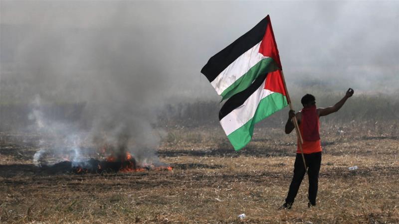 Ежеседмичните протести по границата на Газа започнаха на 30 март 2018 г. Снимка: Ройтерс