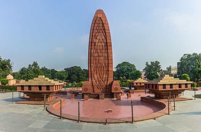 Мемориалът в Джалианвала Багх. Снимка: Wikimedia Commons