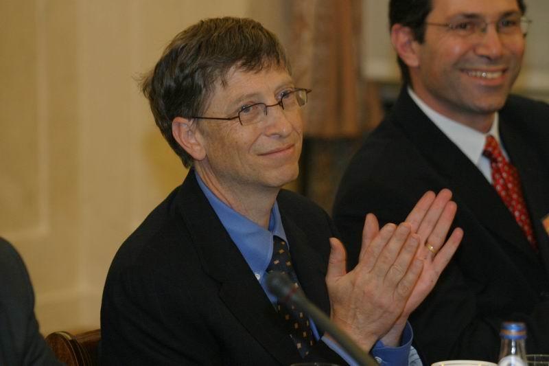 За масовата публика Бил Гейтс е рекламно лице на милиардерите, но хора като него съвсем не са представителни за тази група. Wikimedia Commons