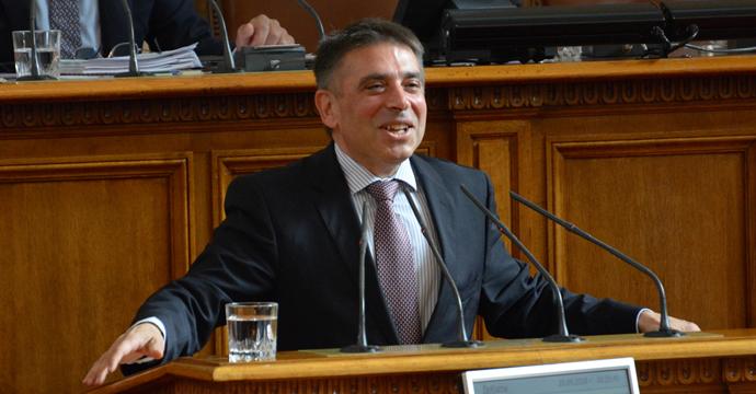 "Данаил Кирилов. Снимка: Николай Драганов, ""Барикада"""