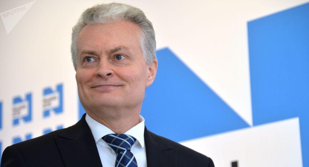Гитанас Науседа е новият президент на Литва. Снимка: Sputnik