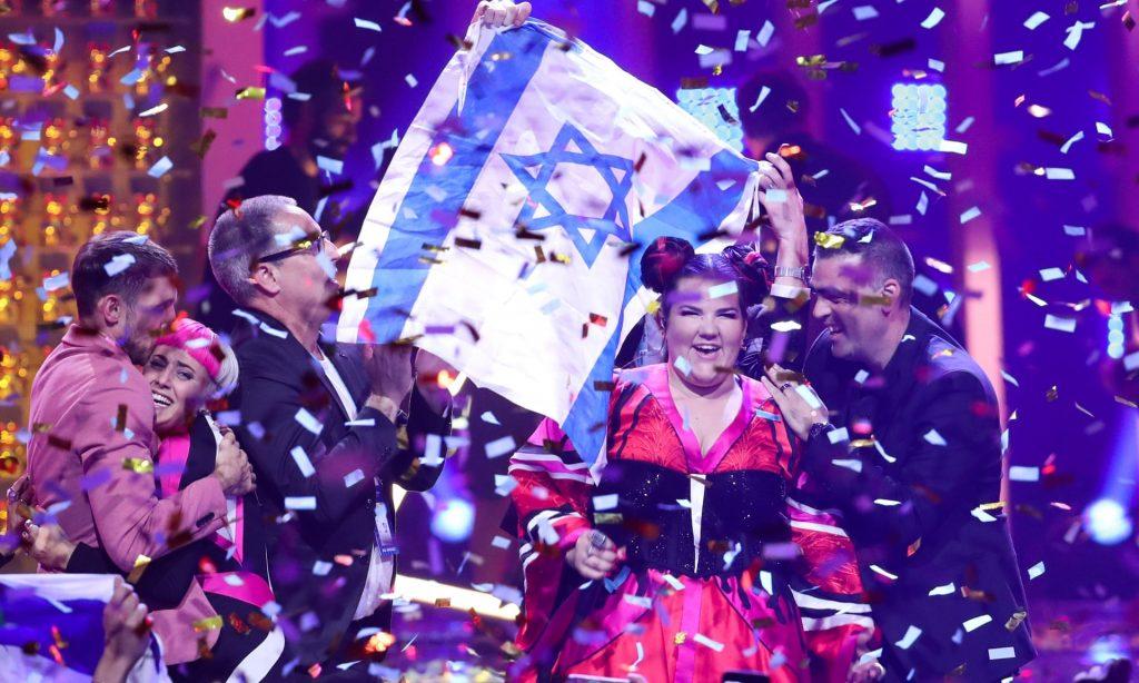 """Израелската певица Нета Барзилай спечели """"Евровизия"""" през 2018 г. Снимка: ТАСС"""