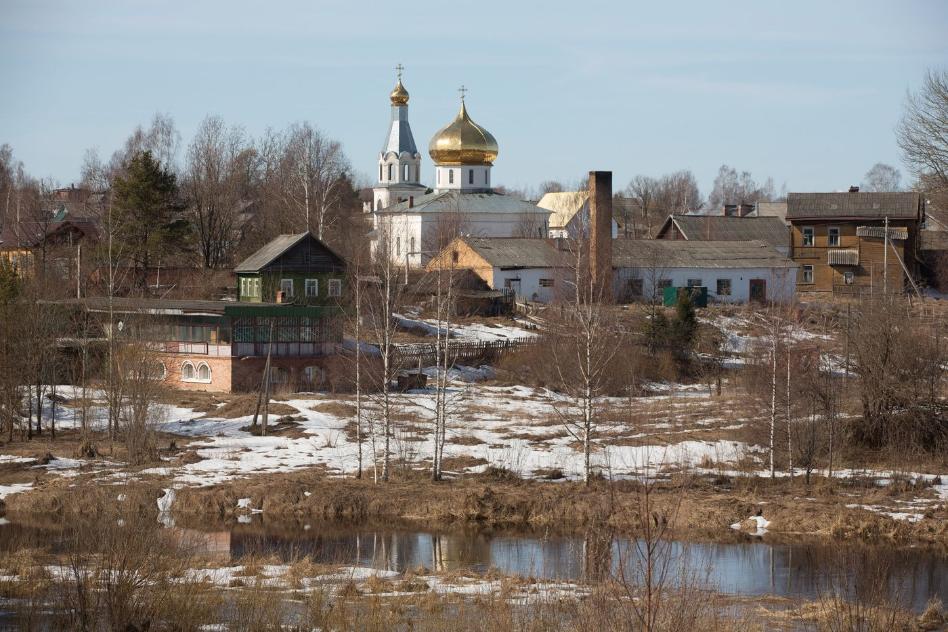 Мошенское, което скоро може да остане без никакви здравни заведения. Снимка: Андрей Рудаков/Bloomberg