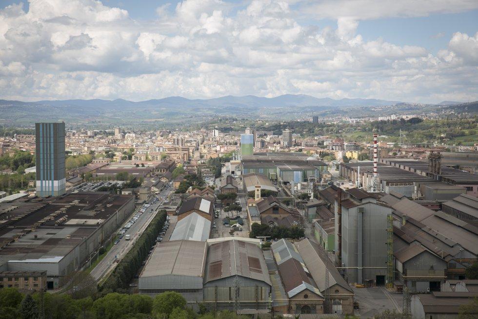 Панорамен поглед към град Терни. Снимка: El Pais