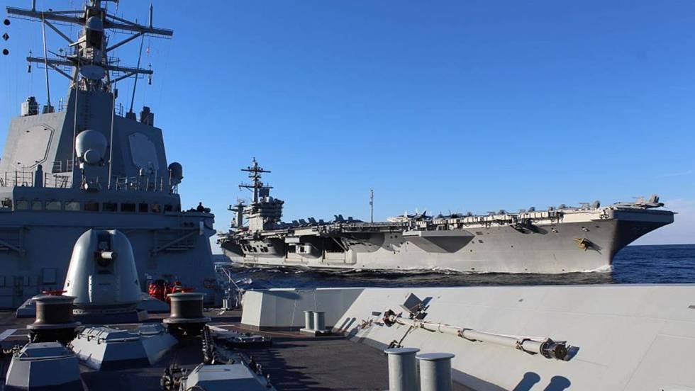 """Испанската фрегата """"Мендес Нуниес"""". Снимка: Armada Espanola"""