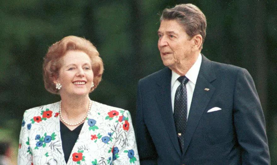 Маргарет Тачър и Роналд Рейгън. Снимка: Ройтерс