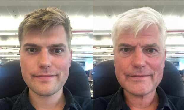 Снимка: Jim Waterson / The Guardian / FaceApp
