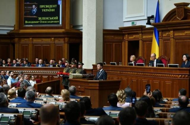 Парламентарните избори в Украйна дават на президента Володимир Зеленски и сериозно мнозинство в Радата. Снимка: ua-reporter