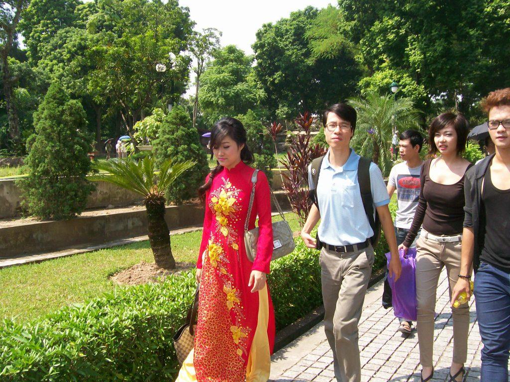 65% от населението на Виетнам е под 35-годишна възраст. Снимка: Къдринка Къдринова