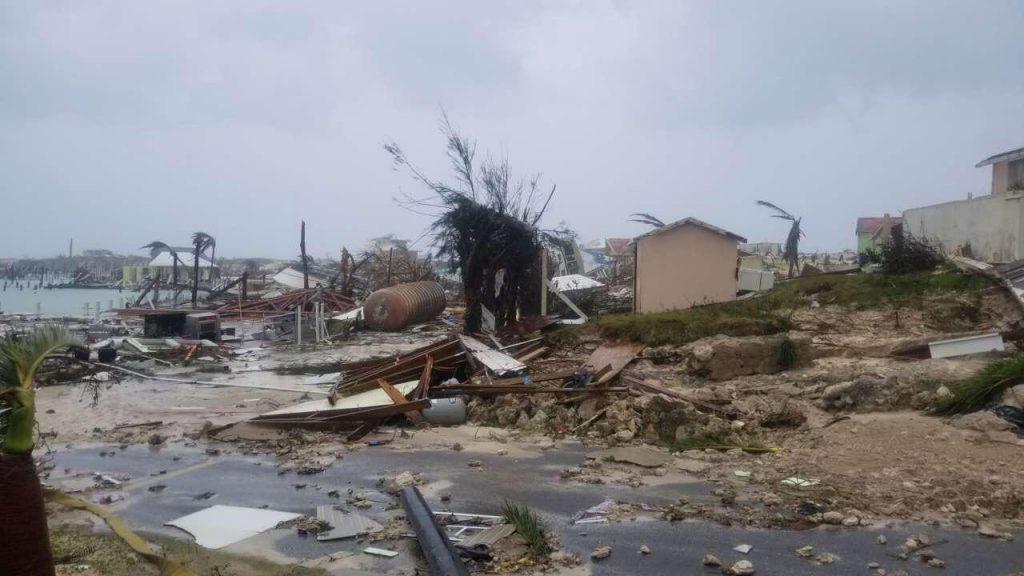 """Последствията от урагана """"Дориан"""". Снимка: Wikimedia Commons"""