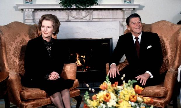 Натискащите за твърд Брекзит се опитват да довършат това, което започнаха Тачър и Рейгън. Снимка: Bettmann Archive
