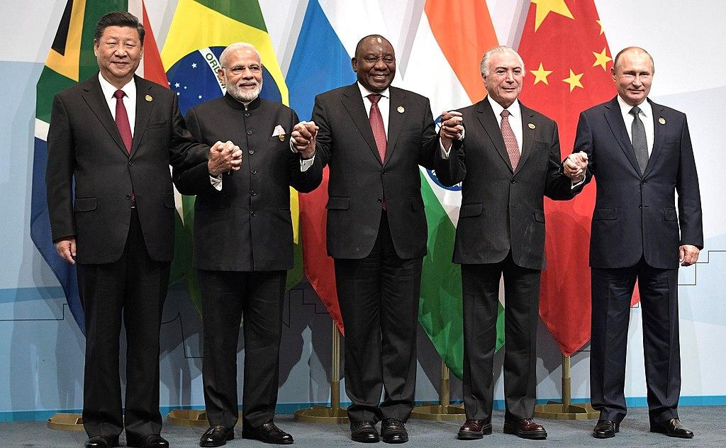 Лидерите на страните от BRICS се срещат веднъж годишно, като причината  едва ли се изчерпва с това, че акронимът им харесва. Wikimedia Commons.