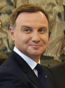 """Полският президент Анджей Дуда, """"нотариусът на ПиС"""", източник: Wikimedia Commons"""