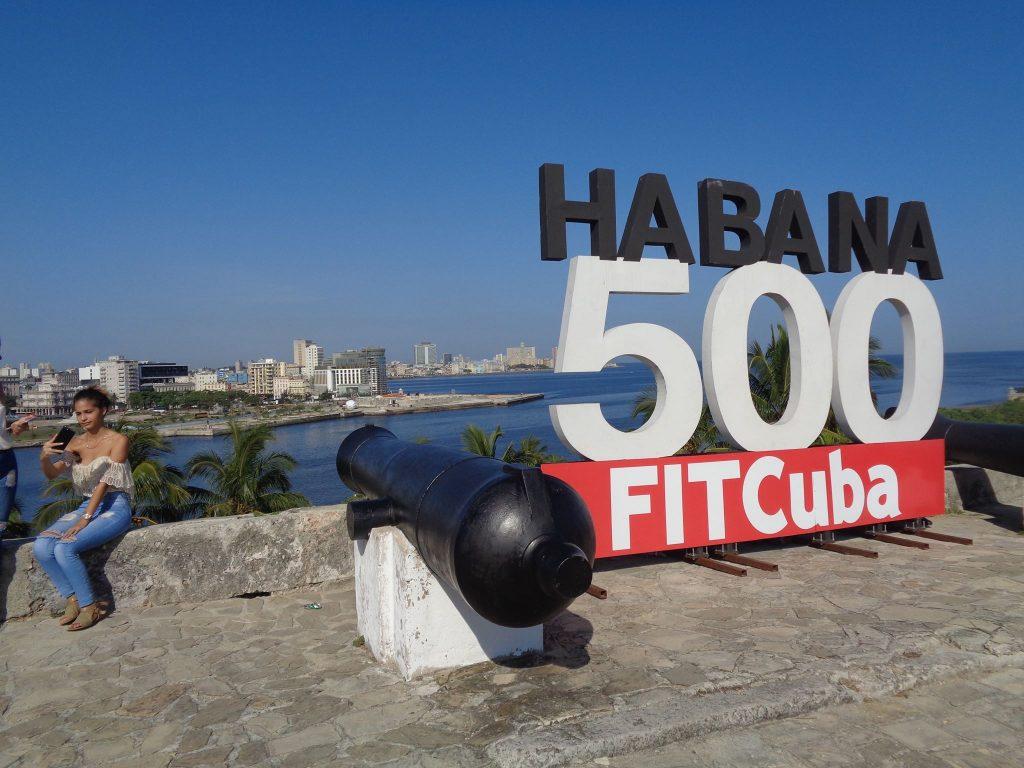 """Изглед от крепостта """"Ла Кабаня"""" към 500-годишната Хавана. Снимка: Къдринка Къдринова"""