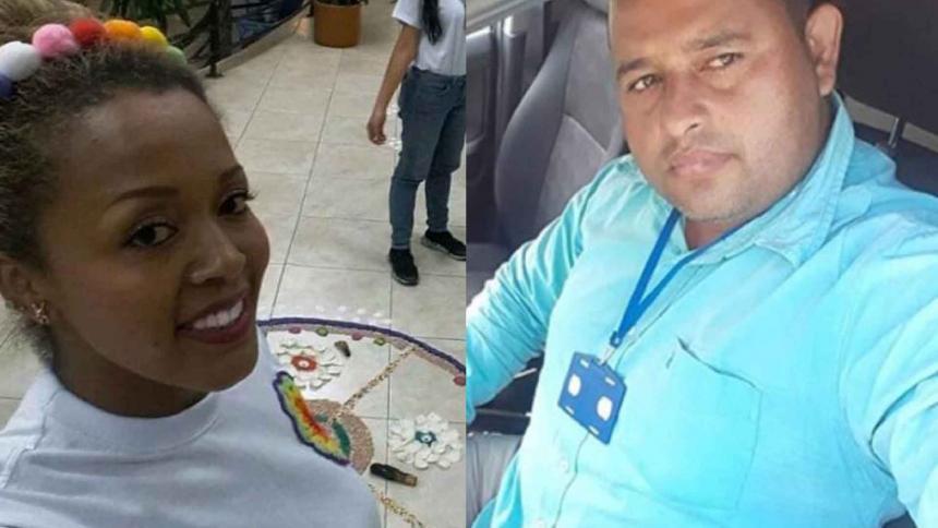 Луси Вияреал и Рейналдо Карийо бяха убити в два съседни колумбийски департамента в рамките на 24 часа навръх Коледа. Снимка: elheraldo.co