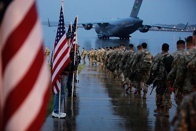 Вашингтон е готов на всичко, за да гарантира военното си присъствие в Близкия Изток. Снимка: Wikimedia Commons