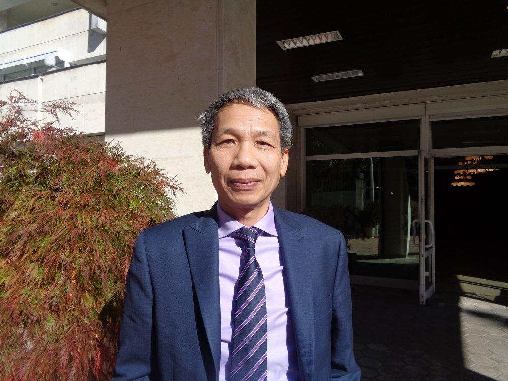 Извънредният и пълномощен посланик на Социалистическа република Виетнам у нас Н. Пр. Доан Туан Лин. Снимка: Къдринка Къдринова