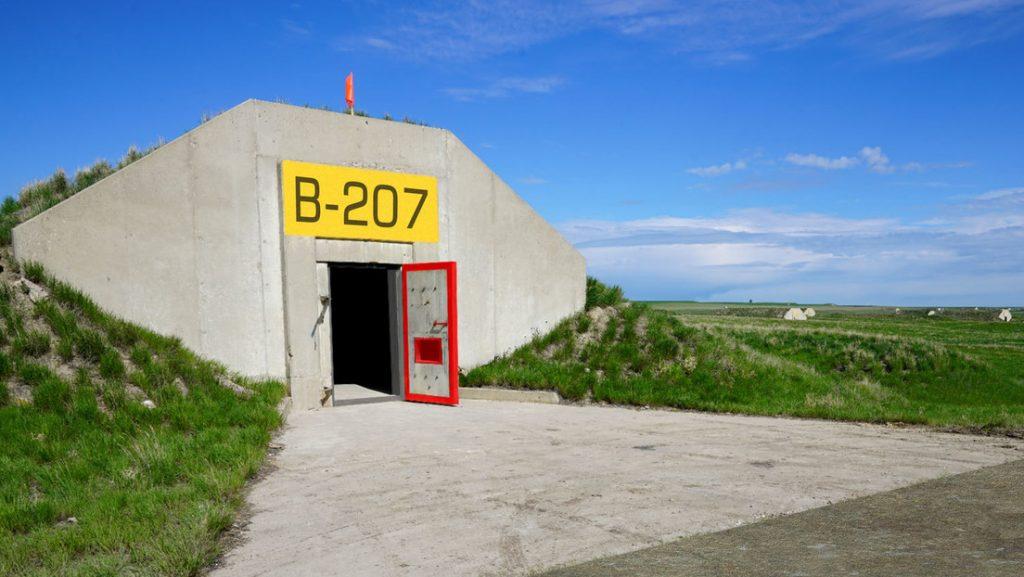 Бункер в САЩ от периода на Студената война, предлаган днес като убежище от коронавирус. Снимка: RT