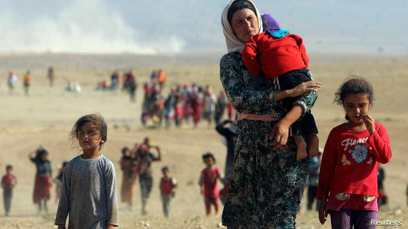 Язиди, багащи от инвазиаята на ИДИЛ през 2014 г. снимка: Ройтерс