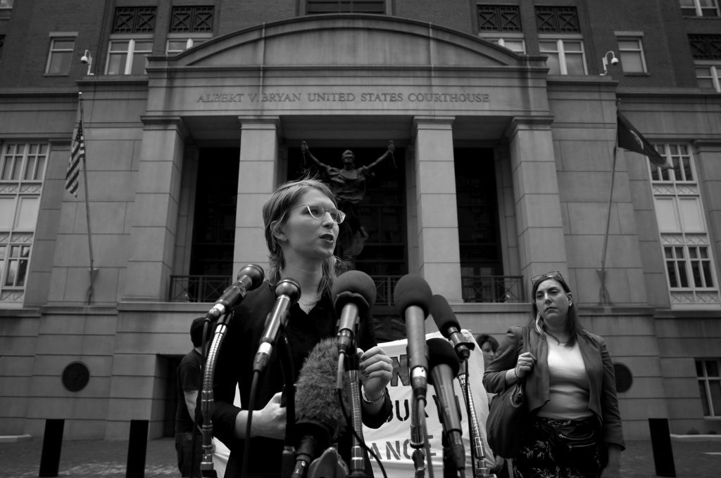 Манинг е доказала, че няма да отстъпи от принципите си, каквито и вреди да й донесе това. Снимка: sparrowmedia.net