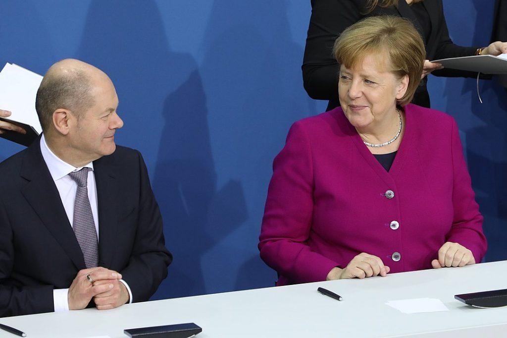 Шолц и Меркел забравиха всякакви бюджетни ограничения при помощта за германската икономика - но отказват да покажат солидарност с другите членки на ЕС. Снимка: Wikimedia Commons