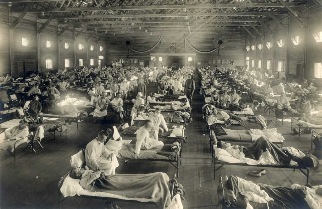 Screenshot_2020-04-02 Camp Funston, at Fort Riley, Kansas, during the 1918 Spanish flu pandemic - Search results for spanis[...]