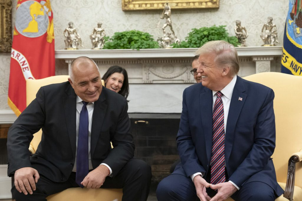 Незабравимата среща между Бойко Борисов и Доналд Тръмп в Белия дом през ноември 2019 г. Снимка: White House